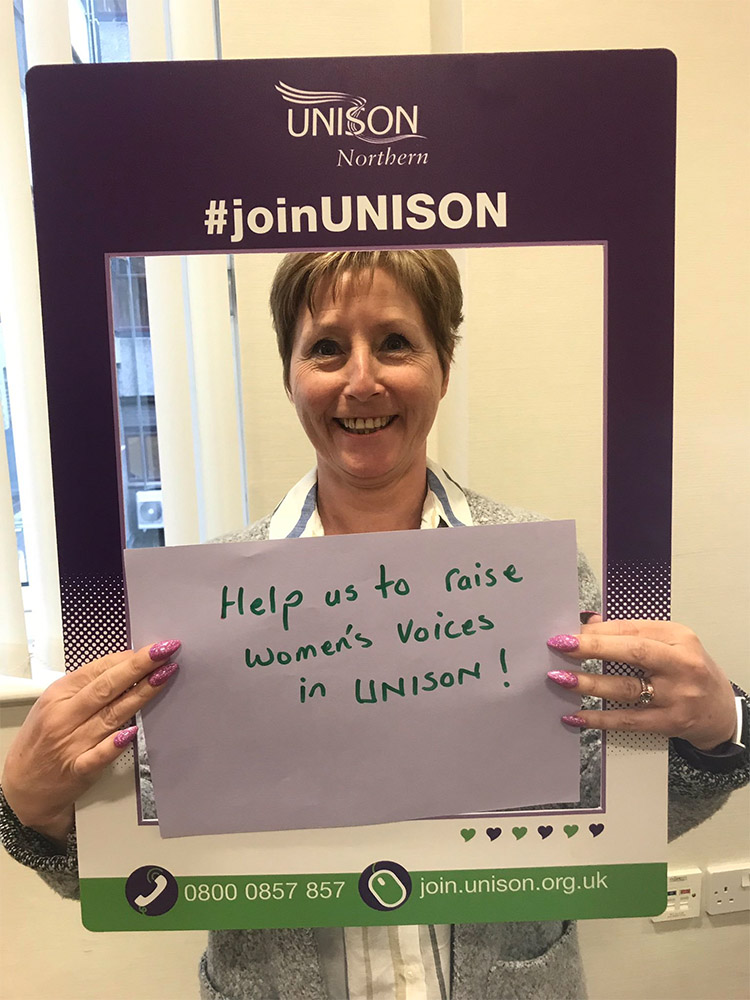 Unison members northern