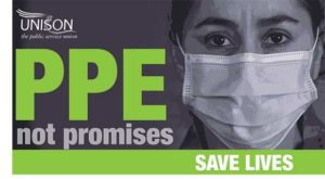 PPE, not promises
